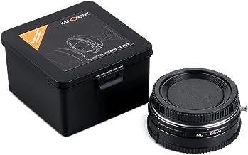 MD-S/α(A) Adaptador - K&F Concept Adaptador de Montaje para la Lente Minolta MD a la Cámara Sony A-Mount