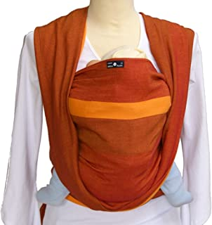 DIDYMOS Woven Wrap Baby Carrier Stripes Olaf (Organic Cotton), Size 5
