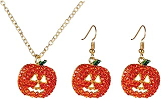 Best red necklace and earrings Reviews