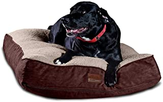 Floppy Dawg Super Extra Large Dog Bed with Removable Cover and Waterproof Liner. Made for Big Dogs up to 100 pounds and Mo...