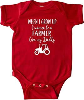 Farmer Like Daddy Childs Infant Creeper