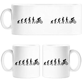 Diver Tazas Taza Cyclist Evolution la evolución del Ciclista ...
