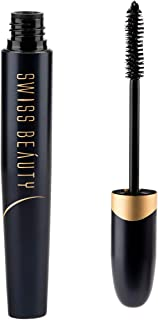Swiss Beauty Bold Eye Super Lash Waterproof Mascara, Eye MakeUp, Black-01, 7.5ml