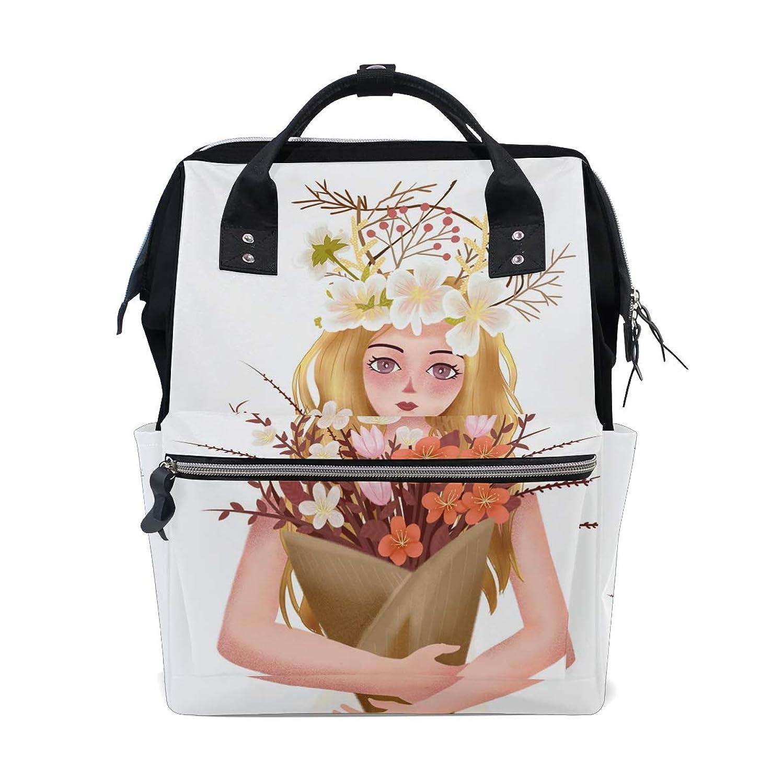 Backpack Anime Fairy Girl Flower School Rucksack Diaper Bags Travel Shoulder Large Capacity Bookbag for Women Men