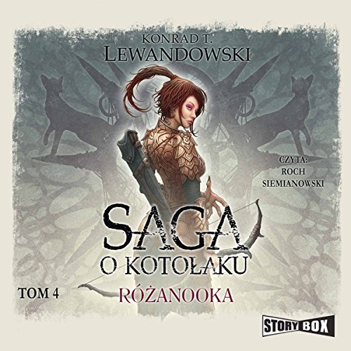 Różanooka audiobook cover art