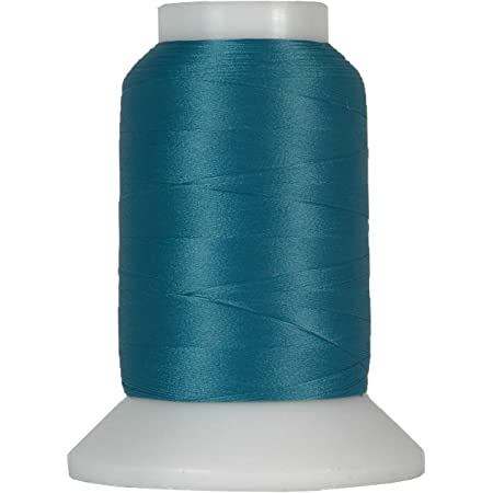 1000m Spools 50 Colors Available Threadart Wooly Nylon Thread GREY//BLUE Serger Sewing Stretchy Thread Color 9125