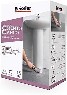 comprar comparacion 5448B11 - Cemento blanco aditivado para cerámica Beissier 1,5 kg