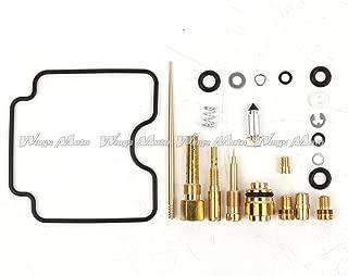 Wingsmoto Carb Repair Carburetor Rebuild Kit for Yamaha 2000-2012 YFM 400 Big Bear