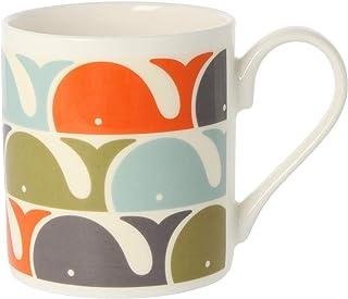 Orla Kiely Whale Mug Colour: Orla Kiely Orange