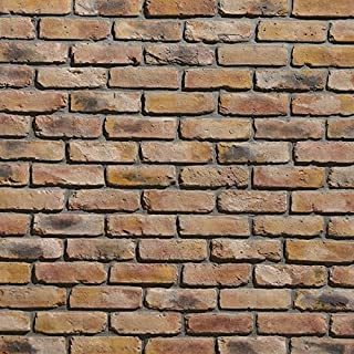 Koni Brick Old Chicago Buff 10.76 sq. ft. Flats 0.65 in. x 8.20 in. x 2.50 in. Thin Brick