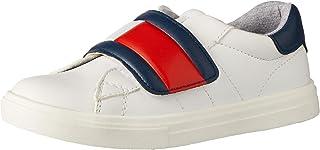 TOMMY HILFIGER Flag Velcro Sneaker Boys Flag Velcro Sneaker, White/Blue/Red