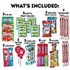 CraveBox Care Package (45 Count) Snacks Food Cookies Bar Chips Candy Ultimate Variety Gift Box Pack Assortment Basket Bundle Mix Bulk Sampler Treats College Students Office Valentines Day Chocolates #3