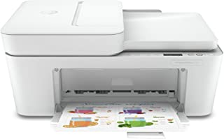 HP DeskJet Plus 4120 - Impresora multifunción tinta, color, Wi-Fi, copia, escanea, envía fax, compatible con Instant Ink (...