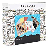 Friends Album de Manualidades, Kit de Scrapbooking Materiales con Pegatinas, Bolígrafos Gel, Sellos...