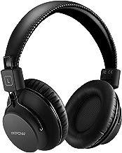 Mpow H1 Cuffie Bluetooth, Cuffie Bluetooth CSR Over-Ear 4.1, Autonomia 20 Ore, Cuffie Bluetooth Pieghevole Ergonomico con Microfono, Riduzione di Rumore, Auricolari Bluetooth per Smartphone e PC-Nero