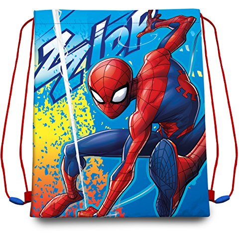 Disney- Spiderman Sac de Sport, MV15363, 40X30 Cm