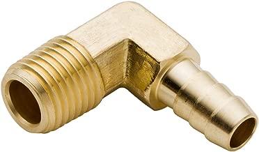 Boeray 5pcs 90 Degree Elbow Brass Hose Barb Fitting -1/4