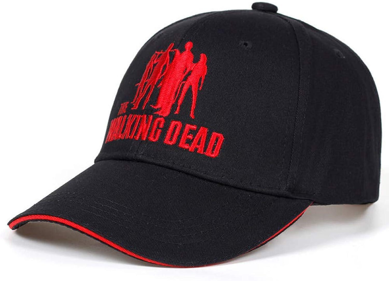 JKYJYJ New Men Women Black The Caps Black Cotton Baseball Cap Hat for Men Women Hip Hop Snapback Hats Bone Garros