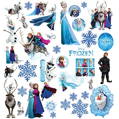 Frozen Aufkleber | Wandtattoo für Kinder