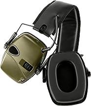 iFCOW Shooting Range Oorbeschermers, Oorverdediger, Lichtgewicht Gehoorbescherming Hoofdtelefoon