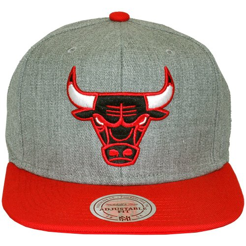 Mitchell & Ness - Casquette Snapback Homme NBA Team Pop - Chicago Bulls