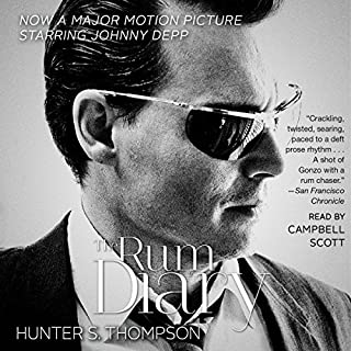 The Rum Diary     A Novel              By:                                                                                                                                 Hunter S. Thompson                               Narrated by:                                                                                                                                 Christopher Lane                      Length: 6 hrs and 20 mins     27 ratings     Overall 4.3