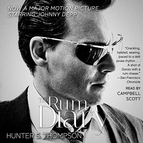 The Rum Diary audiobook cover art