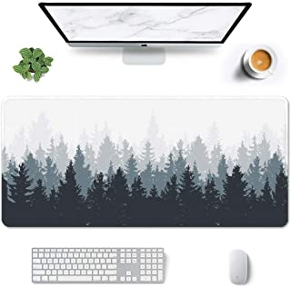 """Auhoahsil Large Mouse Pad, Full Desk XXL Extended Gaming Mouse Pad 35"""" X 15"""", Waterproof Desk Mat with Stitched Edge, Non-..."""