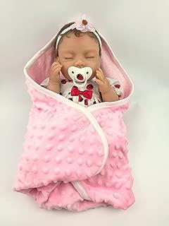 AVANI DOLL ''Jodie'',Lifelike Newborn Baby Doll Handmade Reborn Baby Doll,16 inch Realistic Soft Vinyl Sleeping Baby Girl Doll