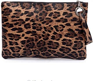 Dolce Na Womens Oversized Clutch Bag Purse Pu Leather Evening Wristlet Handbag