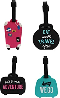 2 Pack Luggage Tags Taj Mahal Handbag Tag For Travel Bag Suitcase Accessories