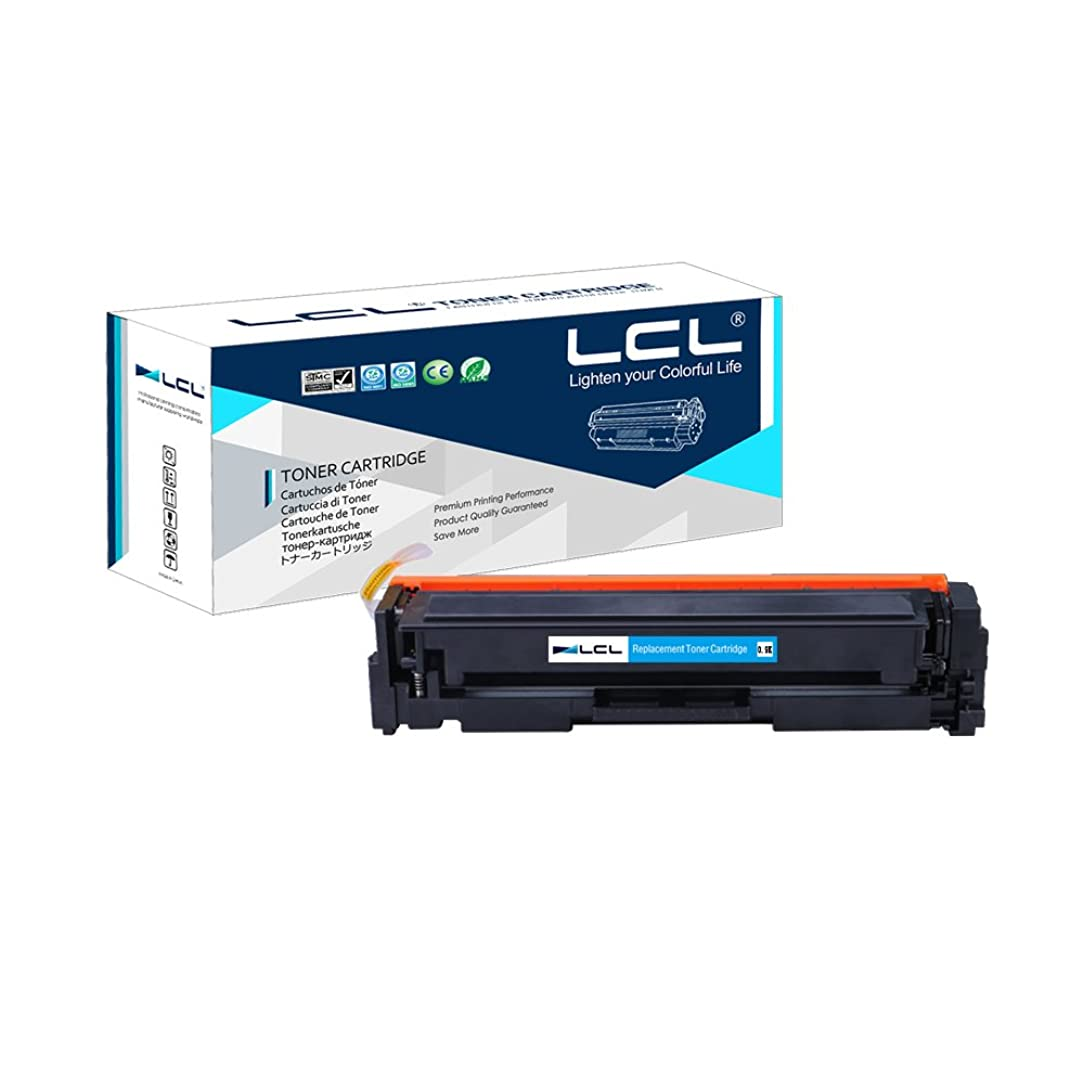 LCL Compatible Toner Cartridge Replacement for HP 204A CF511A M154 MFP M180nw MFP M181 (1-Pack Cyan)