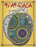 Mandala Pasquali: Album con disegni di 50 Uova di Pasqua Ripiene di Bellissimi Mandala da Colorare - Per Adulti