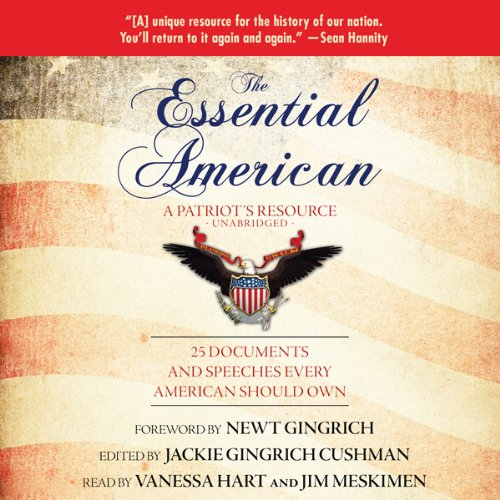 The Essential American audiobook cover art