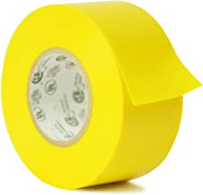 WOD EL-766AW Professional Grade General Purpose Yellow Electrical Tape UL/CSA listed core. Utility Vinyl Rubber Adhesive Electrical Tape: 2 in. X 66 ft. - Use At No More Than 600V & 176F (Pack of 1)