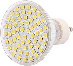 X-DREE 220V GU10 LED Light 6W 2835 SMD 60 LEDs Spotlight Down Lamp Bulb Lighting Warm White(Lampadina 220V GU10 LED 6W 283...