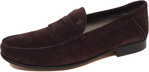 F0270 Mocassino Mocassino hommes marron Tod'S chaussures Suede Loafer chaussures Man  meilleure offre