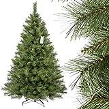 FairyTrees künstlicher Weihnachtsbaum SKANDINAVISCHE Tanne