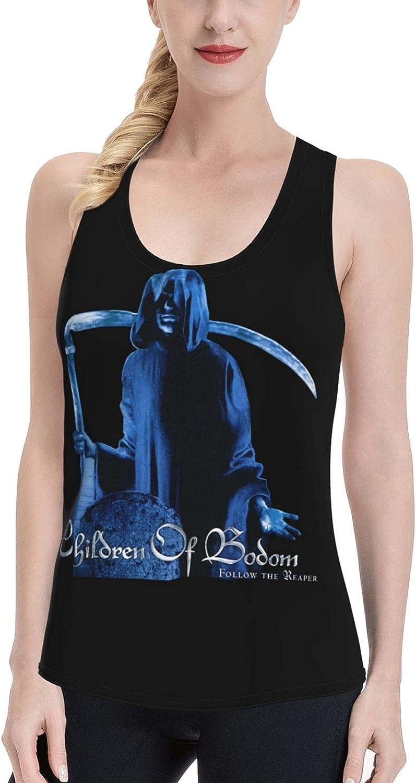 NATHANDAVISON Children of Bodom Women's Vest Fashion Sleeveless Sports and Leisure Vest T-Shirt
