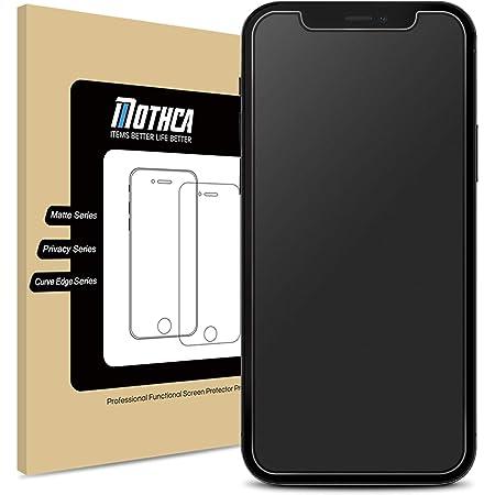 Mothca アンチグレア強化ガラス iPhone 12/iPhone 12 pro対応 液晶スクラブガラス 保護フィルム 日本旭硝子製素材 指紋防止 反射防止 硬度9H 3D touch対応 飛散防止 キズ防止 衝撃吸収 撥油性 疎水(6.1インチ)