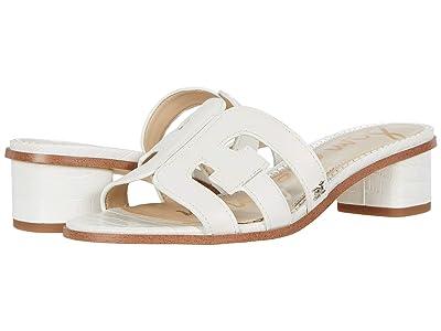 Sam Edelman Illie (Bright White Geneva Calf Leather) Women