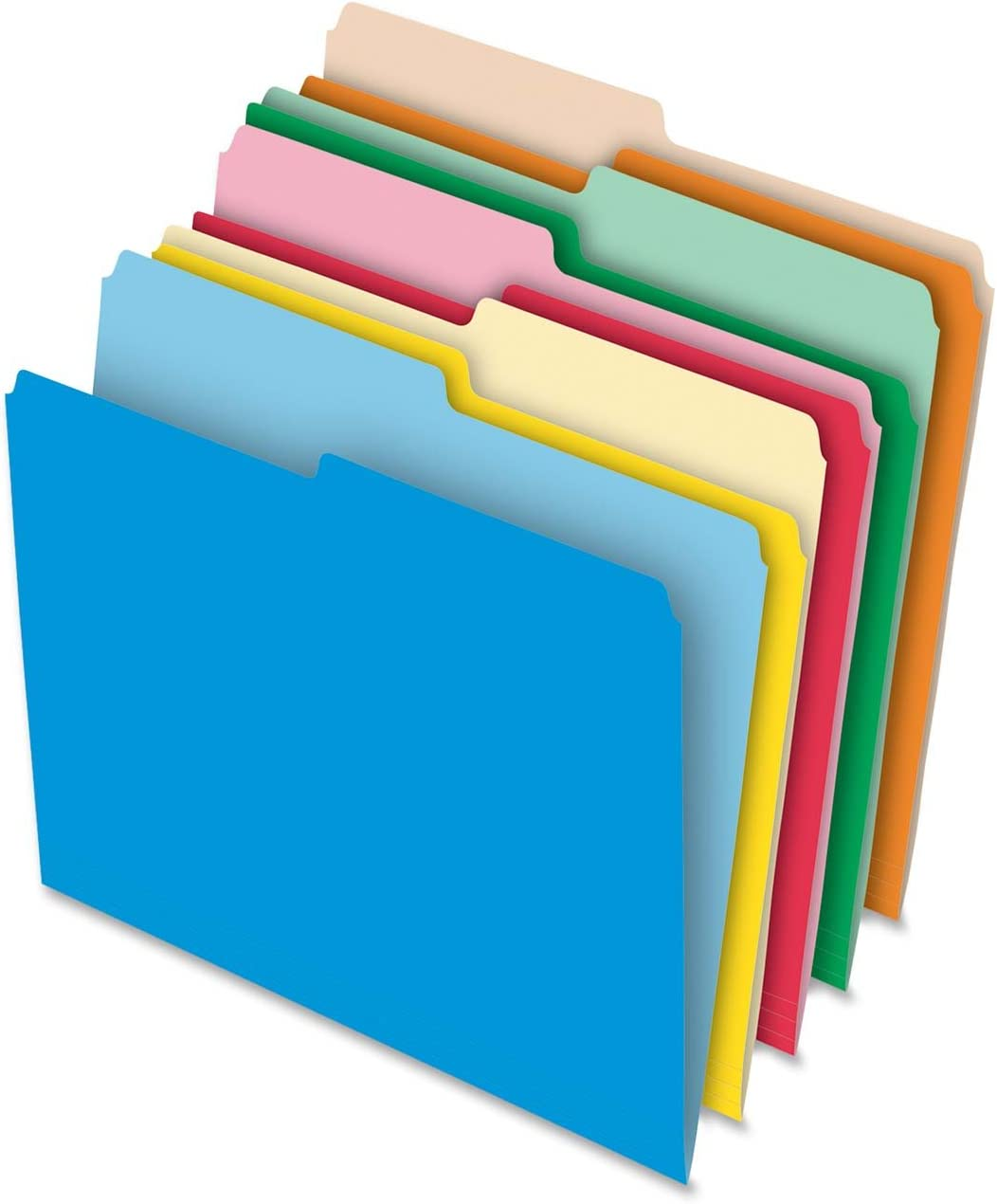 Quality inspection Pendaflex Stretch Tab File Ranking integrated 1st place Folder Letter Per 100 Box Size Ass
