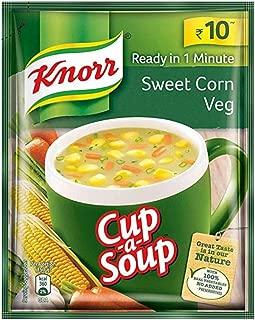 Knorr Sweet Corn Veg Soup (pack of 10) Indian Snacks