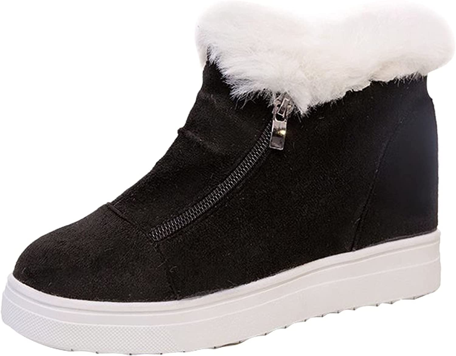 Heumgtnvx Womens Teenage In stock Cotton Snow Shoes Heels Boots Mid High quality
