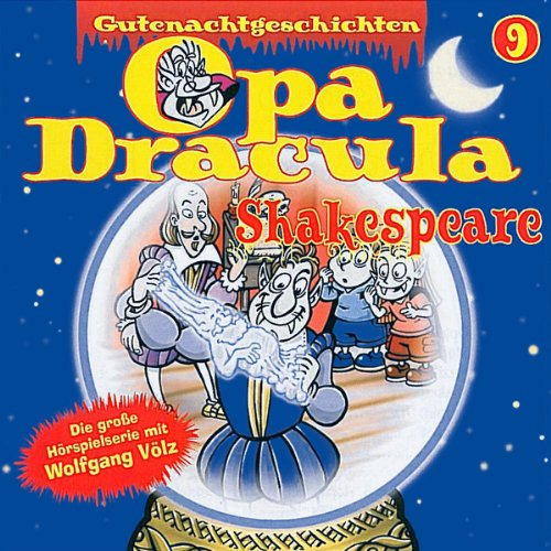 Opa Dracula 9: Shakespeare audiobook cover art