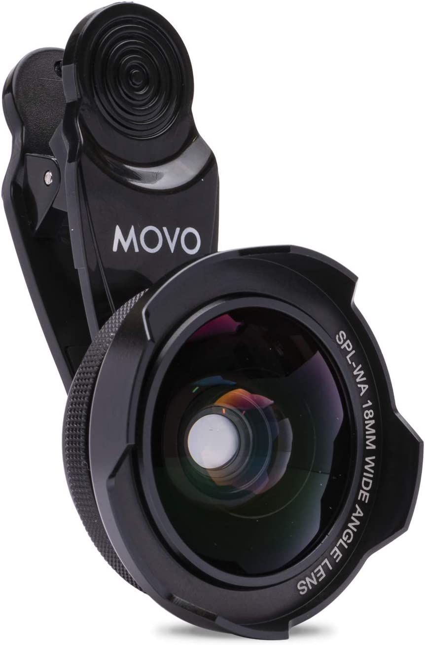Movo SPL-WA 18mm Wide Angle Lens - Universal In stock with Clip Wid Mount free shipping