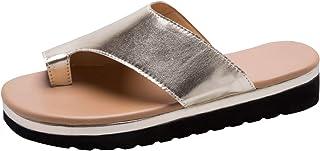KneaBorn Bunion Sandals for Women Comfy - Bunion Corrector Platform Shoes Women Flip-Flop Light Weight Ladys Shoes 2019 Size 5-11 Four Color Avaliable
