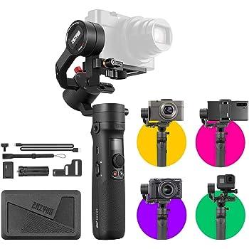 ZHIYUN-Crane-M2-手持ち3軸スタビライザー ジンバル 小型ミラーレス/デジタルカメラ/ アクションカメラ/スマートフォン対応 RX100M7 Gopro 8対応 日本語サポート&日本語説明書