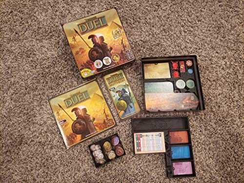 Insert / Box Organizer for 7 Wonders Duel +Expansion