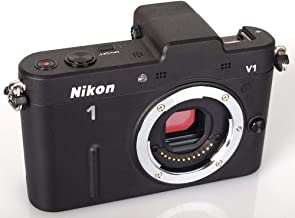 Nikon 1 V1 10.1 MP HD Digital Camera System Body Only (Black)